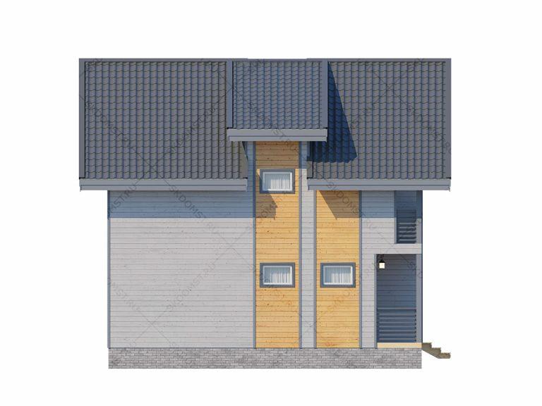 Проект_дома_Д-105_Фасад_2