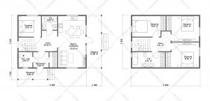 Проект-Дома-Д-103-Планировкаа