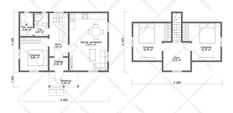 Проект-дома-Д-112-Планировка