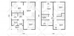 Проект-дома-Д-114-Планировка