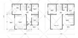 Проект-дома-Д-116_Планировка_Второй_свет