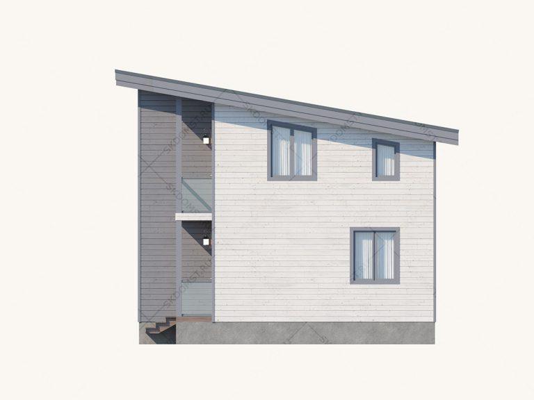 Проект_дома_Д-107_Фасад_4