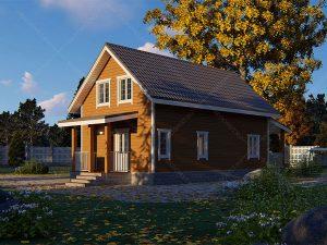 Проект-дома-Д-131-Внешний-вид-2