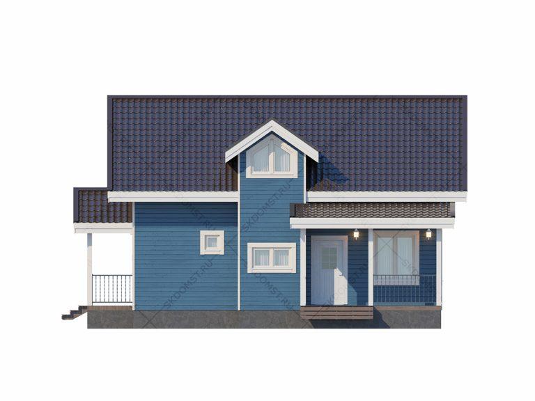 Проект-дома-Д-109_Фасад_1