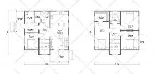 Проект-дома-Д-117_Планировка