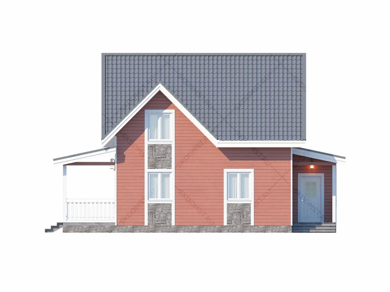 Проект-дома-Д-120_Фасад_1