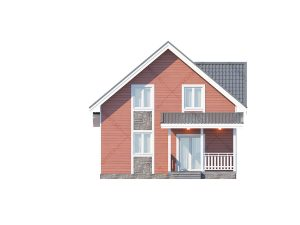 Проект-дома-Д-120_Фасад_2