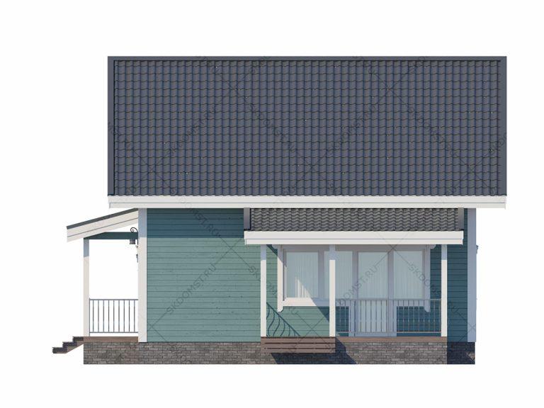 Проект-дома-Д-124_Фасад_1