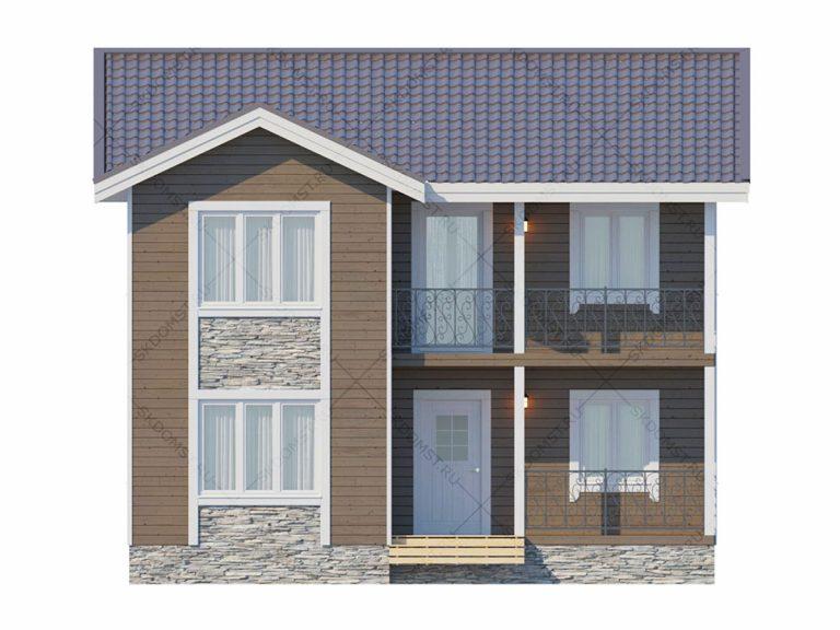 Проект-дома-Д-127-Фасад_1