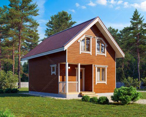 Проект-дома-Д-129-Внешний-вид-1