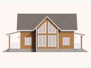 Проект-дома-Д-131_Фасад_1