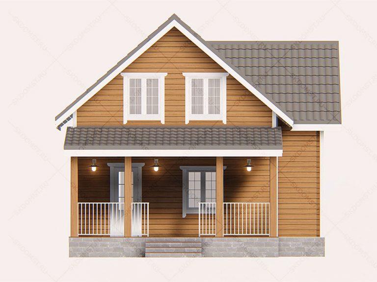 Проект-дома-Д-131_Фасад_2