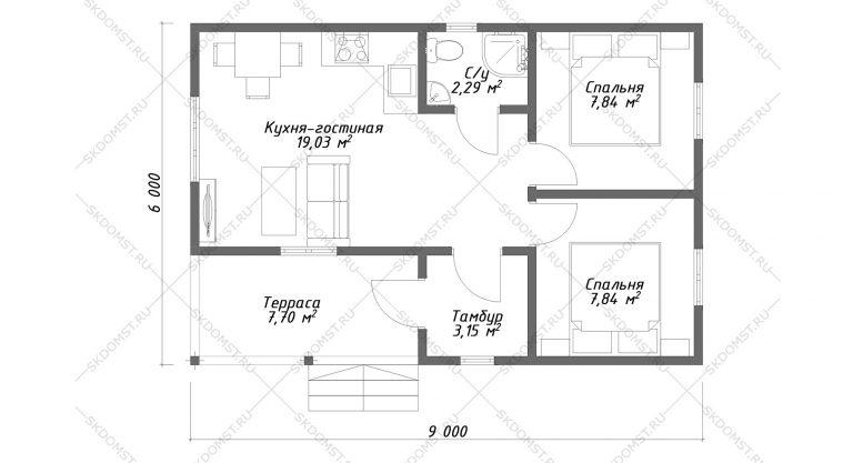 Проект-дома-СД-1-Планировка