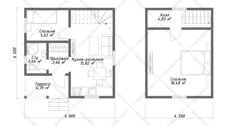 Проект-дома-СД-7-Планировка