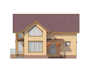 Проект_дома_Д-122_Фасад_1