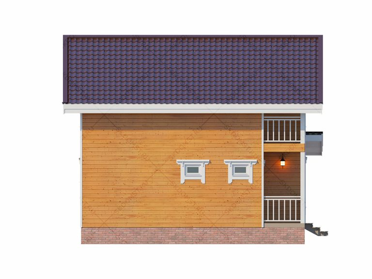 Проект_дома_Д-126_Фасад_2