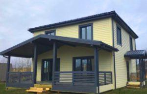 Дом по индивидуальному проекту в посёлке Бобровое