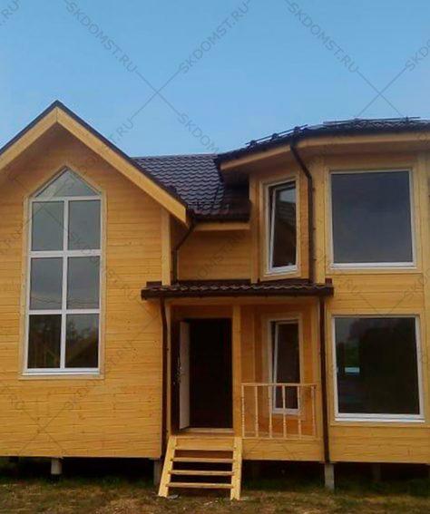 Готовый каркасный дом по индивидуальному проекту, СНТ Озерки